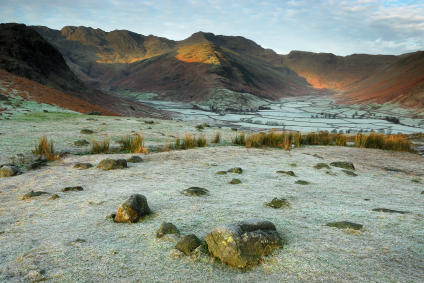 Frosty morning in Langdale